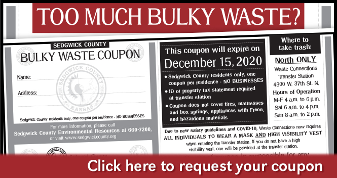 Bulky Waste Coupon