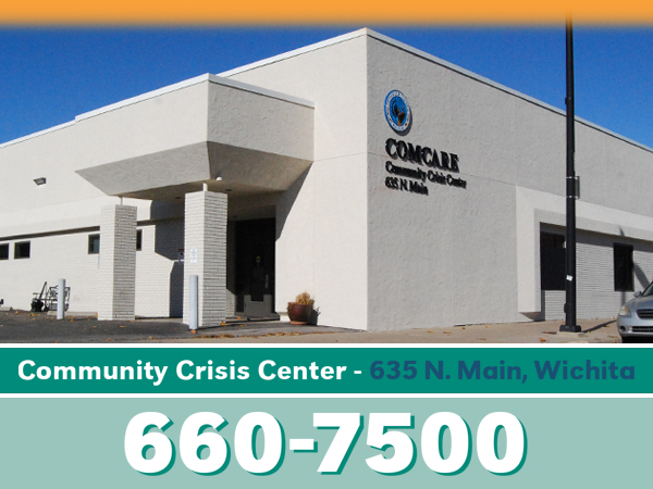 Contact COMCARE's Community Crisis Center at (316) 660-7500.